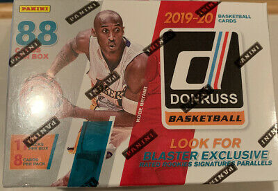 2019-20 Donruss NBA Basketball Cards Retail Pack from Blaster Box ZionMorant