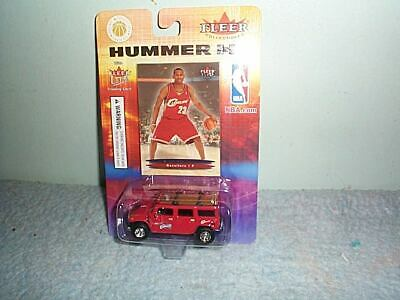 LEBRON JAMES ROOKIE CARD 2003-04 FLEER ULTRA 171 CAVALIERS WITH H2 HUMMER