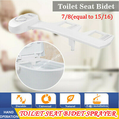 Bidet Fresh Water Spray Mechanical Bidet Toilet Seat Attachment Non-Electric US