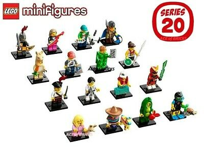 LEGO Series 20 Collectible Minifigures 71027 - Complete Set SEALED IN HAND