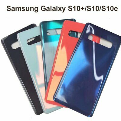 For Samsung Galaxy S10- Plus S10 S10e Back Glass Door Cover OEM Replacement Part