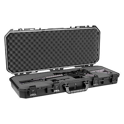 Plano PLA11836 36 All Weather Hard Sided Tactical Rifle Long Gun Case Black