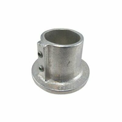 1 Speed Rail Round Flange Fits Pipe O-D- 1-38