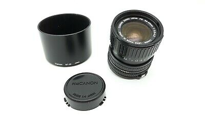 CANON zoom FD 28-55mm f 3,5 - 4,5 with hood BT-58 (17437)