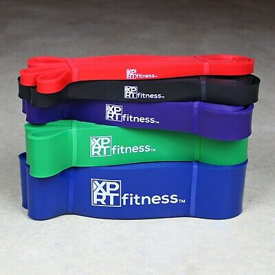 XPRT Fitness Pull Up Resistance Bands - Mobility Stretch Powerlifting