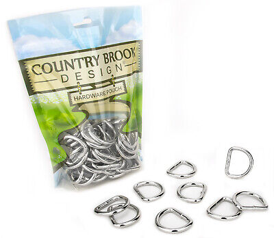 10 - Country Brook Design® 1 Inch Heavy Welded D-Rings