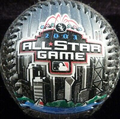 CHICAGO WHITE SOX 2003 COMISKEY PARK ALL-STAR GAME LIMITED BASEBALL BY FOTOBALL