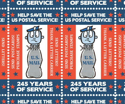 SAVE The Postal Service 2 - Artistamps Faux Postage Cinderellas  Mail-Art