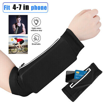 Arm Sleeves Band Armband Cell Phone Holder Bag Pouch Gym Running Jogging Cycling