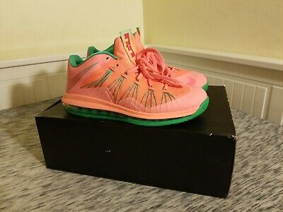 Nike Lebron 10 Low Watermelon Size 10