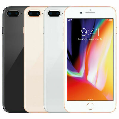 Apple iPhone 8 Plus - 64GB -Unlocked A1897 GSM-Rose GoldSpace Gray