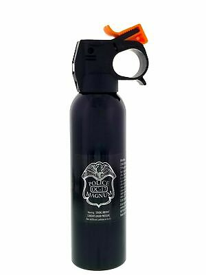 Police Magnum Pepper Spray Self Defense 7oz Riot Fire Master Fogger Can