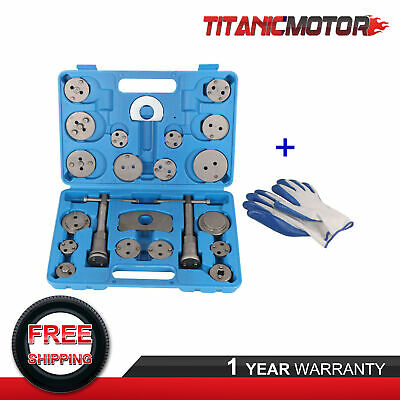 22PCS Universal Disc Caliper Brake Piston Wind Back Rewind Hand Tools Pair