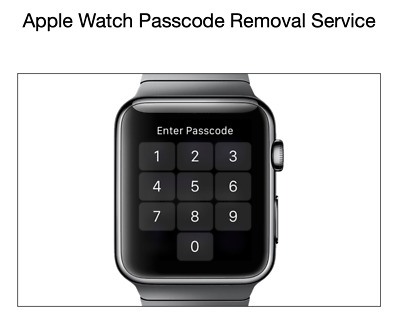 Apple Watch Passcode Removal Service - iCloud ONOFF Status Check Mail Service