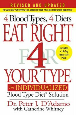 Eat Right for your Type - 4 Blood Types 4 Diets🔥Fast Delivery🔥 📥 P-D-F 📥