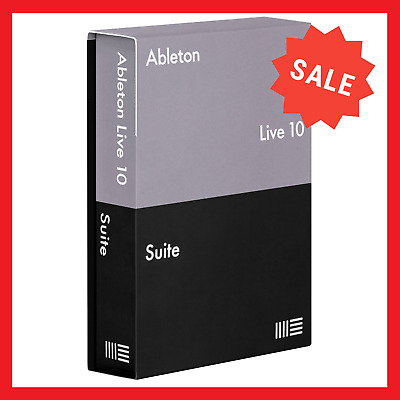 Ableton Live 10 Suite 🔥 v10-1-15 🔥 Windows - Mac 🔥 Activated ⚡Fast Delivery⚡