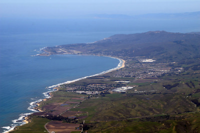City of Half Moon Bay  with Ocean View  San Mateo County California
