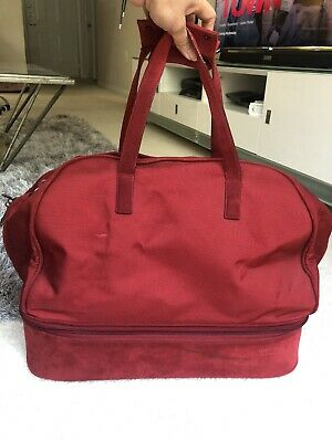 Tumi Red Weekend Bag Missing Strap