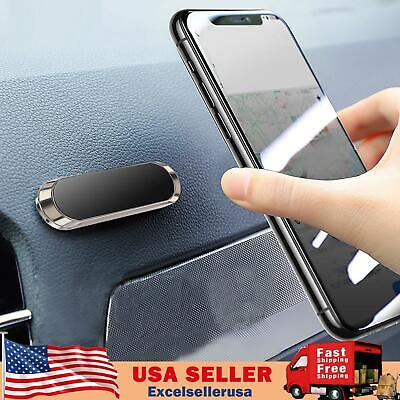 Strip Shape Magnetic Car Phone Holder Stand For iPhone Magnet Mount Universal UE