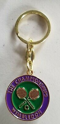 Wimbledon Tennis- The Championships Keychain  NEW