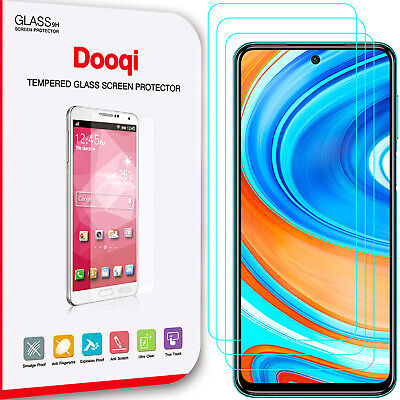 3X For Xiaomi Redmi Note 9 Pro  9S Ultra Clear Tempered Glass Screen Protector