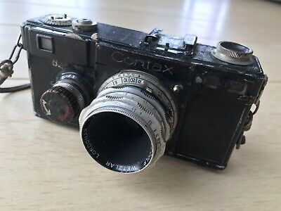 Contax - Black Rangefinder camera