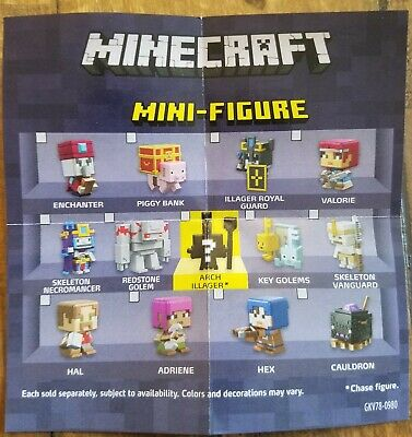 Choose your Minecraft Mini Figure Series 20 Dungeons Series FREE SHIPPING