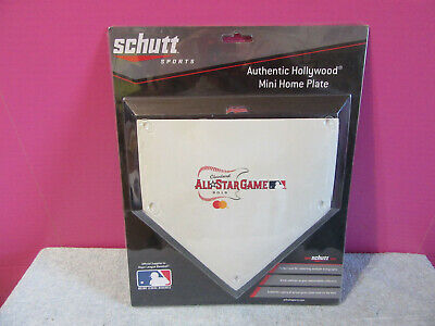 2019 All Star Game Cleveland Indians mini home plate Schutt Baseball hollywood