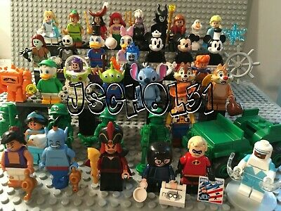 Lego Disney Minifigures -  Series 1 - 2 - Others - You Pick Your Minifigs