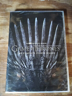 Game of Thrones Complete Season 8 DVD 2019 4-Disc New - Sealed - Fast Shipping-