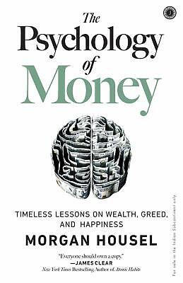 The Psychology of Money Timeless lessons By Morgan Housel NEW Paperback 2020