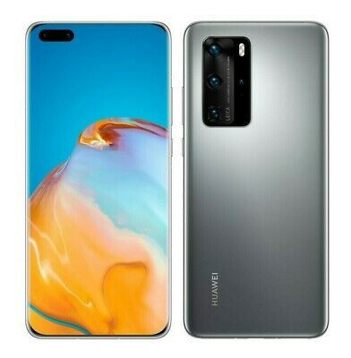 NEW Huawei P40 Pro 6.58 (GSM UNLOCKED) 50MP Smartphone ELS-N04 | Silver Frost