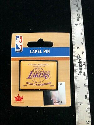 NEW 2020 Los Angeles Lakers NBA World Champions Rafter Banner Pin - LeBron James