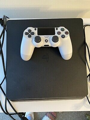 Sony PlayStation 4 Slim 1TB Jet Black Home Console used