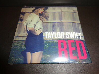 TAYLOR SWIFT - RED - CD SINGLE Numbered BRAND NEW SEALED UPC 843930010288