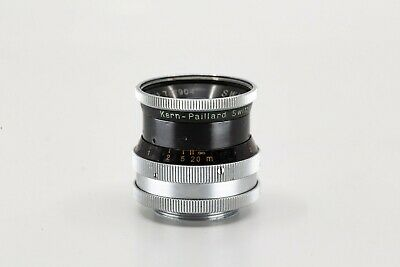 Kern switar 16mm/1.8 H16 RX C Mount 16mm