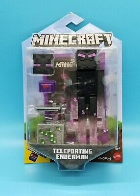MOJANG MINECRAFT ACTION FIGURE - TELEPORTING ENDERMAN - BIOME BLOCK - RARE