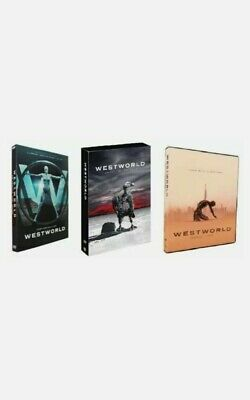 Westworld The Complete Seasons 1-3 DVD