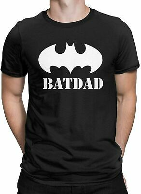Super Batdad Bat Hero Funny Fathers Day T Shirt Size S - 4XL