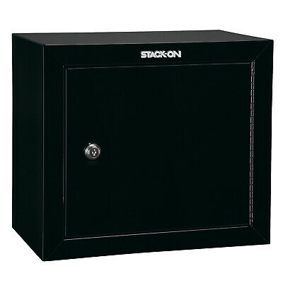 Stack On GCB-500 Stackable Locking 15 Inch Steel Pistol and Ammo Cabinet Safe