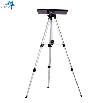 Protable Adjustable Tripod Stand With Tray Camera Projector Outdoor Home Office