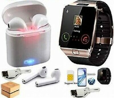 Smart watch with Bluetooth tooth earphones