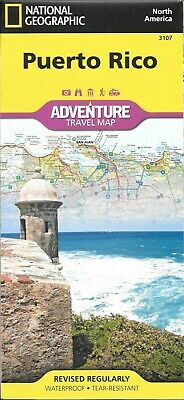 Puerto Rico by National Geographic Adventure Maps 3107