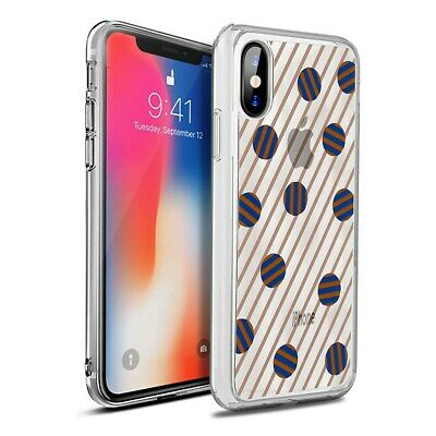 Iphone X Case 🛡️ Otterbox Symmetry Clear Series Dot the Line ✨ Brand New