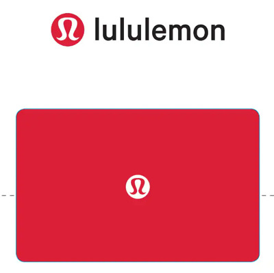100 Lululemon Gift Card