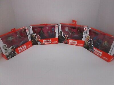 4 FORTNITE BATTLE ROYALE COLLECTION FIGURES DUO PACK AP 1071