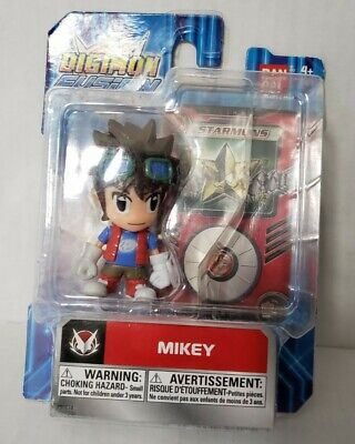 NEW BANDAI Digimon Fusion Mikey Action Figure 2013 Packaging is rough-