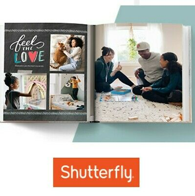 Shutterfly Code 8x8 Photo Book OR  off larger size  Exp  113021 New Customer