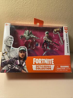 Fortnite Battle Royale Collection Duo Pack Love Ranger and Teknique Mini Figures