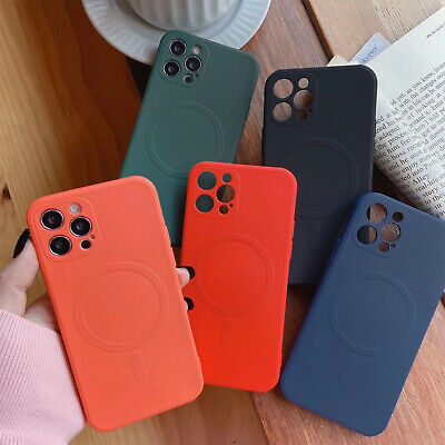 For iPhone 12 Pro Max 12 Mini 11 Mag Safe Magnetic Shockproof iPhone Case Cover